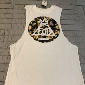 Fall out boy Women's muscle tank BRAND NEW